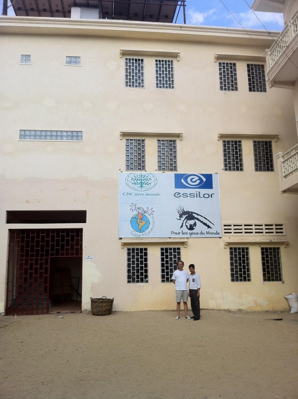 Le bâtiment principal de l'orphelinat
