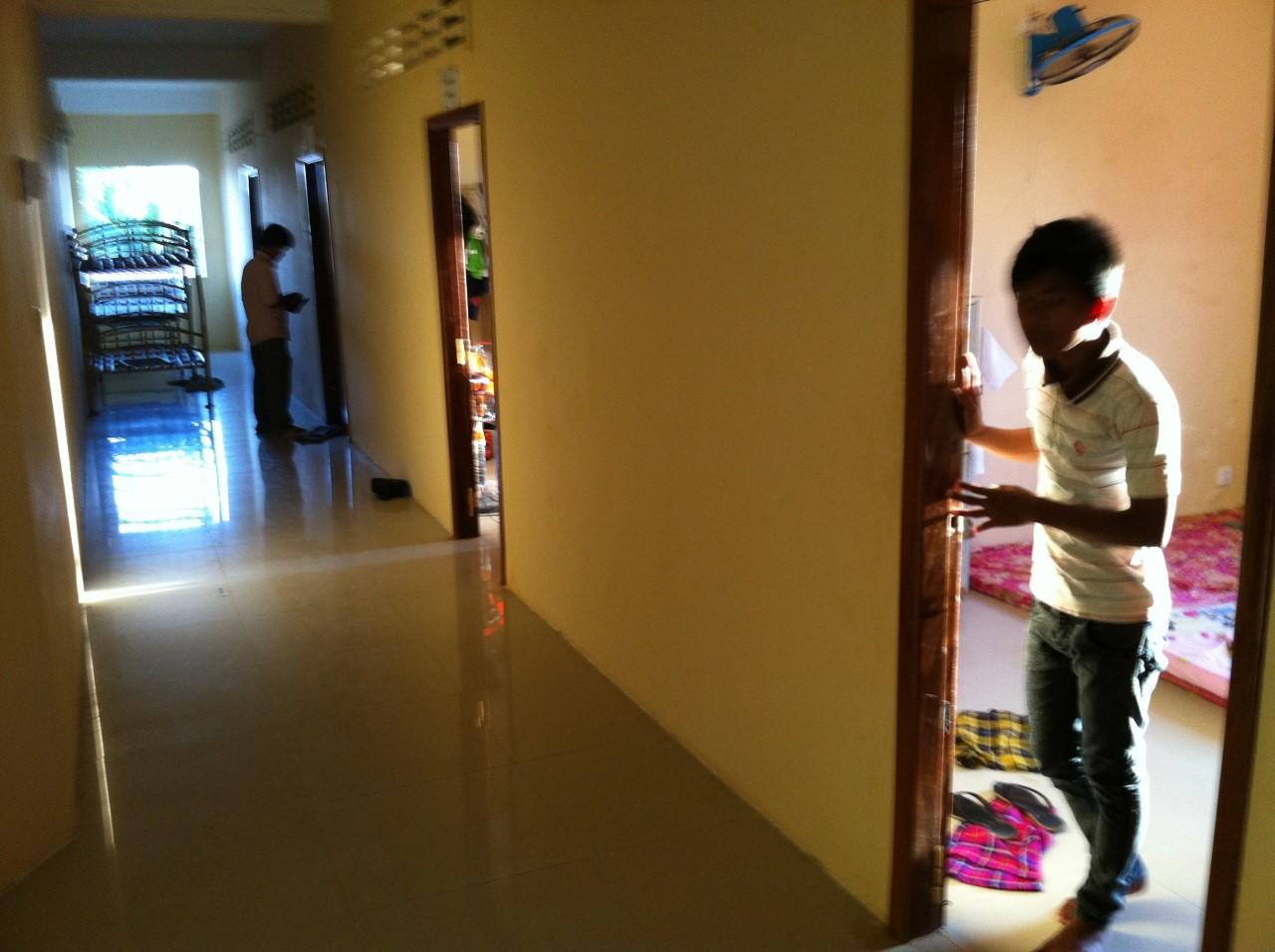 Un couloir de l'orphelinat